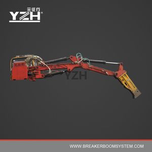 YZH-C450 170° Slewing Type Electric Hydraulic Rock Breaker Booms System
