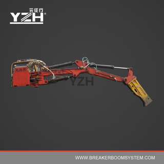 C450 170° Slewing Type Electric Hydraulic Rock Breaker Booms System