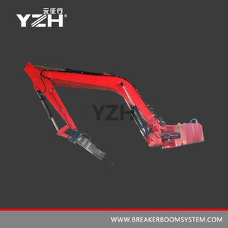 XL 1020 Stationary Pedestal Hydraulic Rock Breaker Boom System