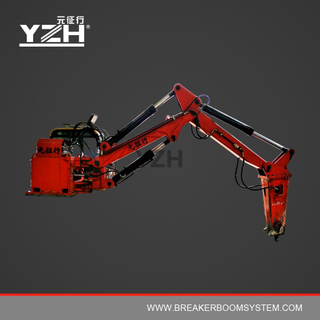 C285N 170° Slewing Type Stationary Hydraulic Rockbreaker With Rammer Hammer