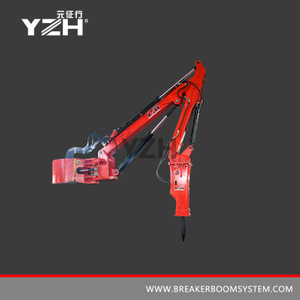 YZH-M630 Pedestal Type Stationary Rockbreakers Boom System