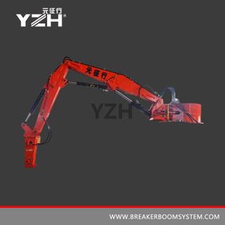 XL 1200 Stationary Hydraulic Rock Breaker Boom System