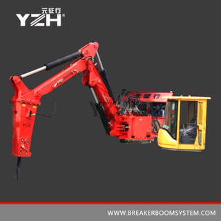 M 630 Static Type Manipulator With Hydraulic Rock Breaking Hammer