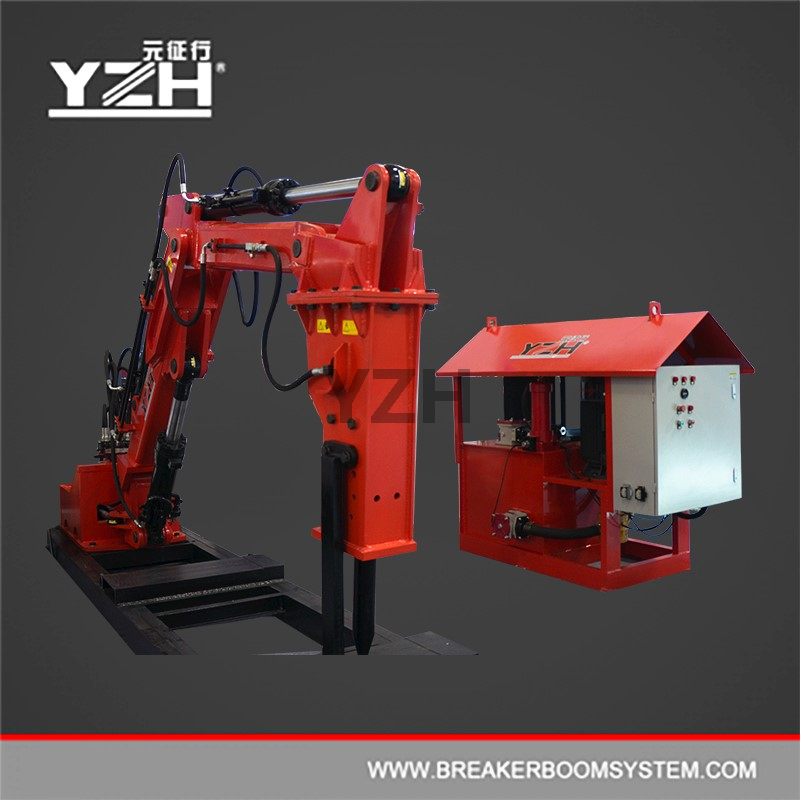 YZH-C450 Stationary Type Pedestal Booms Mounted Rock Breaker