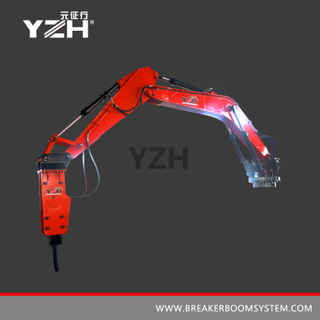 XL1020R 360° Rotation Pedestal Rock Breaker Boom System
