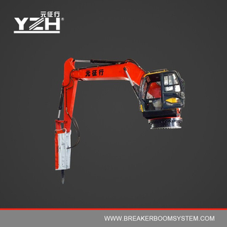 Series XL Hydraulic Rock Breaker Booms Systems