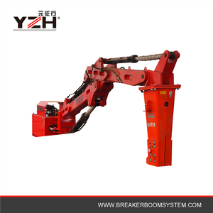 Hydraulic Rock Breaker Booms System Suitable Grizzly