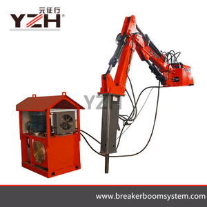 Stationary Pedestal Rock Breaker Boom Systems