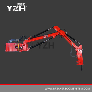 Fixed Type Pedestal Booms Breaker System