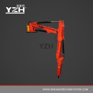 YZH-XL1200R Pedestal Boom Breaker To Fix On Stationary Steel Structure At Cooler
