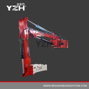 YZH-XM750HD Fixed Pedestal Rock Breaker Boom System