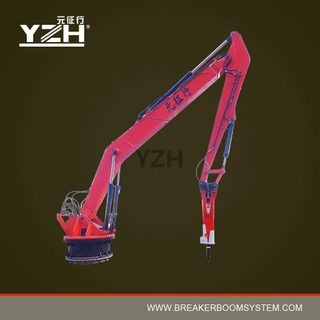 Pedestal Rock Breaker Boom Systems