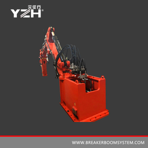 Stationary Type Pedestal Rock Boom Breaker System