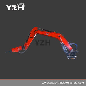 YZH-L940R 360° Rotating Type Pedestal Rockbreaker Booms System
