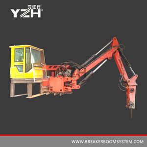 Fixed Type Pedestal Mounted Rockbreaker Booms