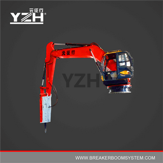 YZH-XL1020R Static Type Hydraulic Rock Breaker Boom System