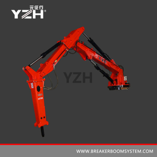 YZH-L940R 360° Slewing Type Mobile Rock Breaker Boom Systems
