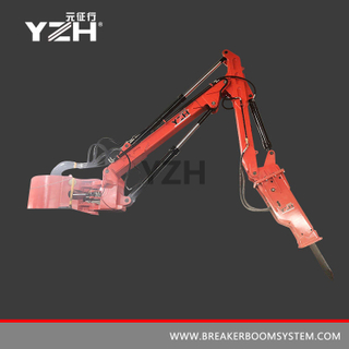 Fixed Type Pedestal Rock Breaker Boom System