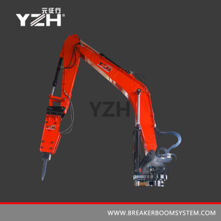 Fixed Pedestal Rock Breaker Booms System