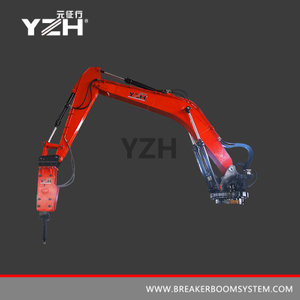 YZH-L940R 360° Rotation Stationary Type Pedestal Rock Breaker Boom Systems