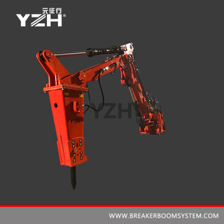 YZH-S550 170° Swing Stationary Type Pedestal Boom Systems